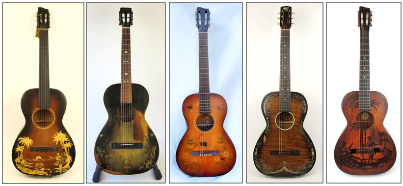Richter Guitars from the 1920's to the 1940's