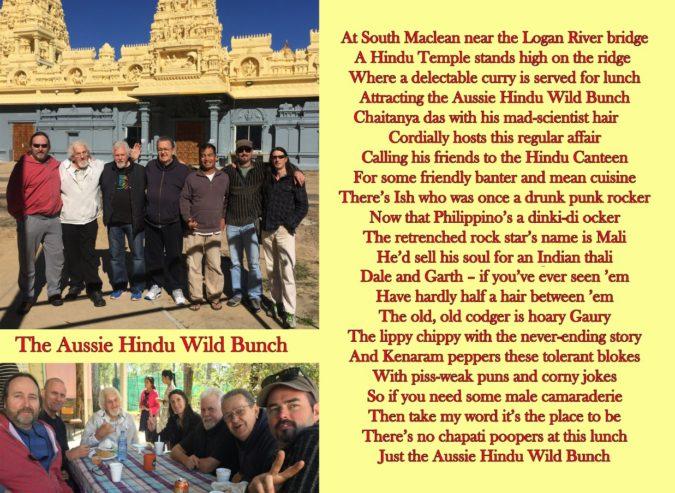 Aussie Hindu Wild Bunch