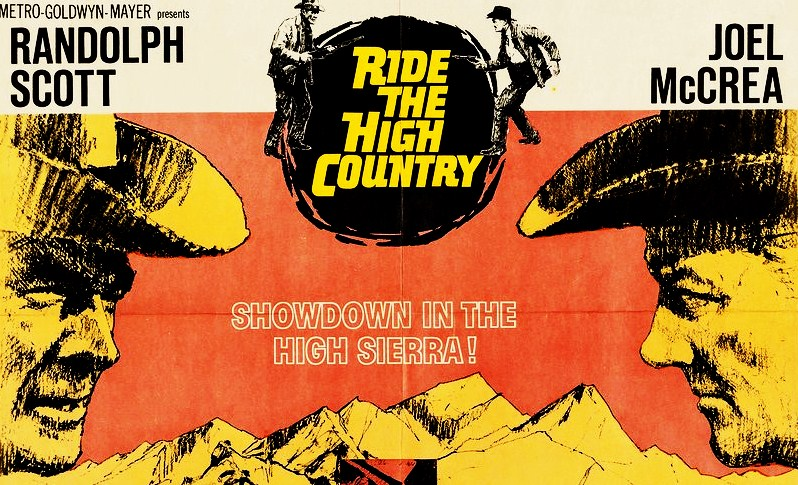 RIDE THE HIGH COUNTRY Movie Poster from 1962