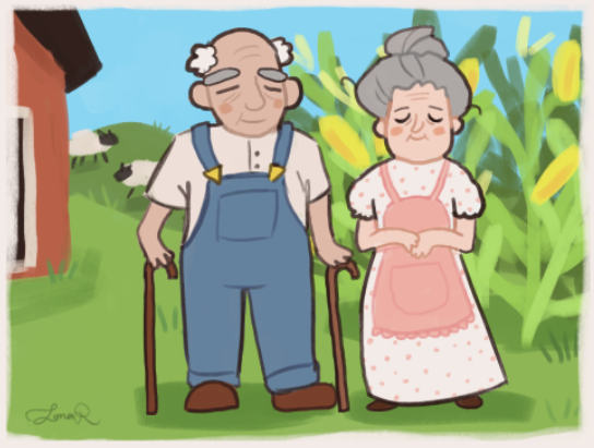 Bert and Martha