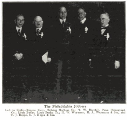 Image 3. H.W. Weymann in group photo (2nd from right). MTR 1922