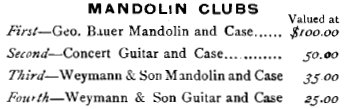 SS Stewarts 1894 Weymann Guitar