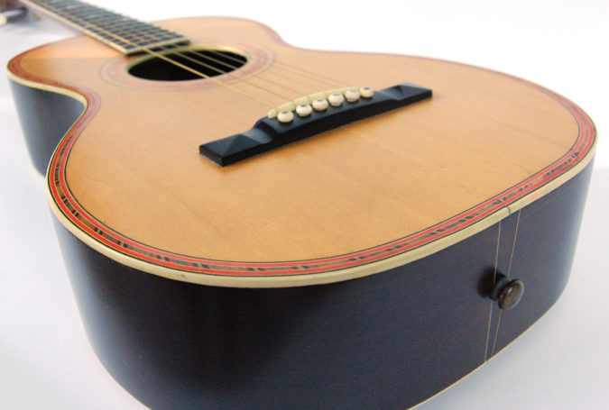 Oscar Schmidt c.1916 'Victoria' Label Guitar